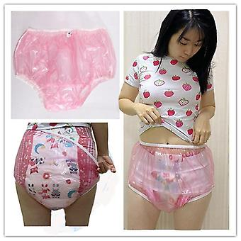 Adult Diaper Pvc Reusable Baby Pant Plastic Bikini Diapers