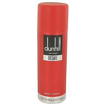 Desire Body Spray By Alfred Dunhill 6.6 oz Body Spray