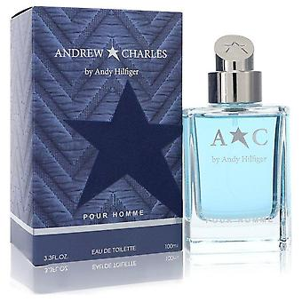 Andrew Charles Eau De Toilette Spray By Andy Hilfiger 3.3 oz Eau De Toilette Spray