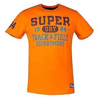 Superdry Track & Field Graphic T-Shirt Denver Orange TSW