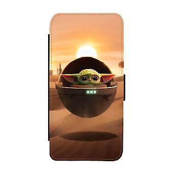 Baby Yoda Samsung Galaxy A51 Portemonnee Hoesje
