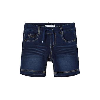 Name-it Boys Jeans Bermuda Sweat Short Ryan Dnmtruebos