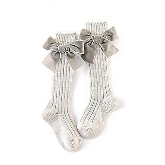 Kids Baby Knee High Socks, For, Princess Style, Heavy Knit Toddle Cotton Long