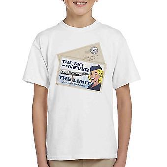 Pan Am The Sky nunca fue la camiseta de Limit Kid's