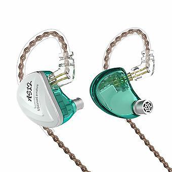 KZ Audio KZ AS12 - In-ear Earbuds - Cyan