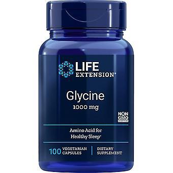 Extensão de vida Glycine 1000mg Vegicaps 100