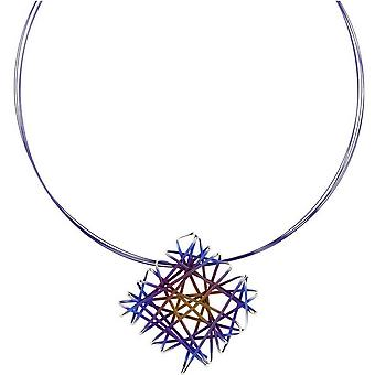 Ti2 Titan Chaos Halskette - blau