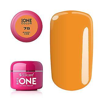 Base one - Color - UV Gel - Sunny Kiss - 79 - 5 gram