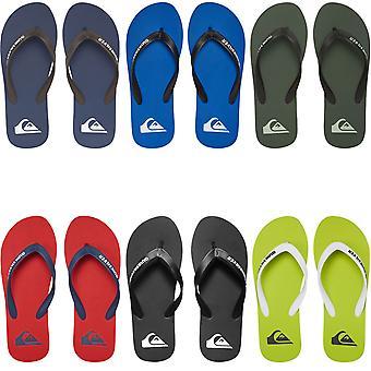Quiksilver Mens Molokai Summer Beach Holiday Thongs Sandals Flip Flops