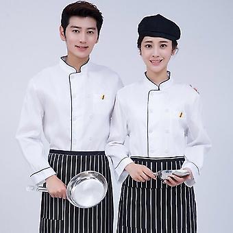 Large Size Chef Uniform Long Sleeve/women