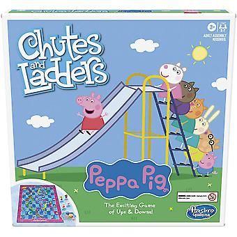 Peppa pig chutes and ladders board game