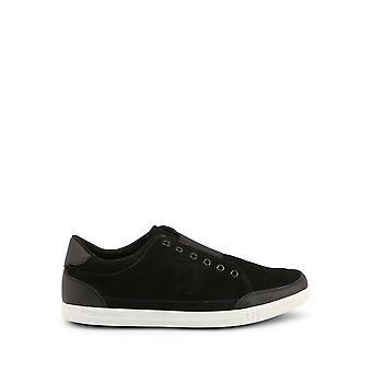 Trussardi -BRANDS - Sko - Sneakers - 77A00012-K299-Black - Mænd - Schwartz - EU 40
