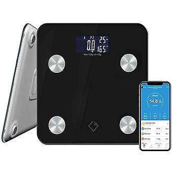 FengChun Digital Body Fat Scale | Body Weighing Scale for Fitness Tracking with 17 Essential Health