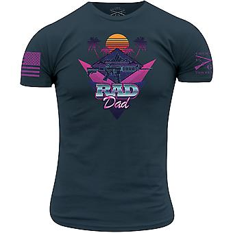 Grunt Style Rad Dad T-paita - Laivasto