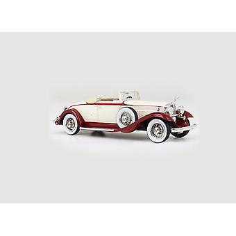 Packard 902 Standard 8 konvertibla (1932) harts modell bil