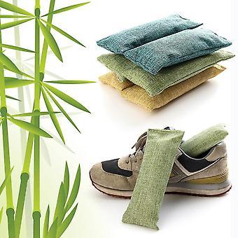 Bamboo Charcoal Bag Smelly Removing Activated Carbon Closets Shoe Deodorant