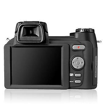 Hd Digital Camera, Auto Focus Slr Video, Optical Zoom, Three Lens