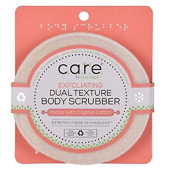 Clean Logic Face & Body Scrubber Dual Textte, 1 počet