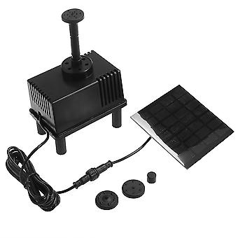 Solar Power Fountain Water Pump Panel Pond Submersible Watering