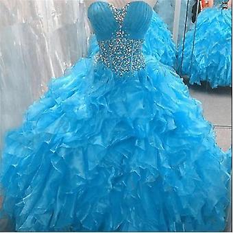 Кристаллы Бисер, Бальное платье Платье