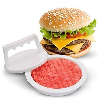Plastic Hamburger Meat Beef Grill Burger Press Patty Maker Mold
