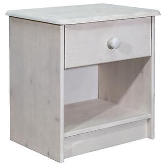 vidaXL bedside table 41x30x42 cm solid wood pine