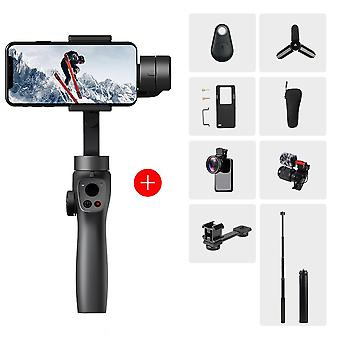 Funsnap fange 2 håndholdte gimbal stabilisator 3-akset trådløs bluetooth tracking action kamera gimbal smartphone