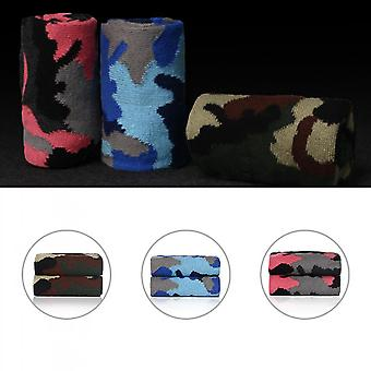 Men Breathable Casual Soft Cotton Camouflage Thicken Warm Elasticity Socks