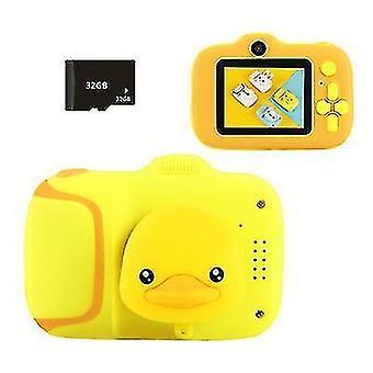 Мини детская цифровая камера с 20 миллионами пикселей высокой четкости £? поддерживает MP3 музыку