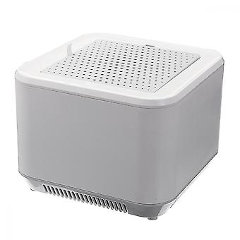 Usb Rechargeable Air Purifier With 2-level Adjustable Pm2.5 Filter