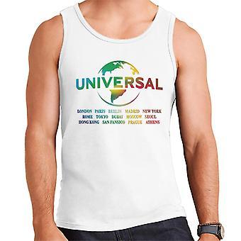 Universal Pictures Rainbow Logo Platser Herrväst