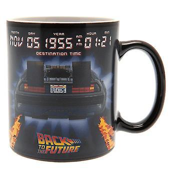 Back To The Future Heat Changing Mug