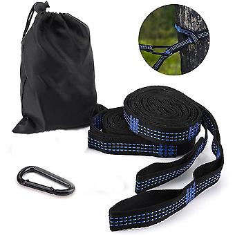 1 Pair Of Hammock Hanging Straps Tree Straps With 14 Loops