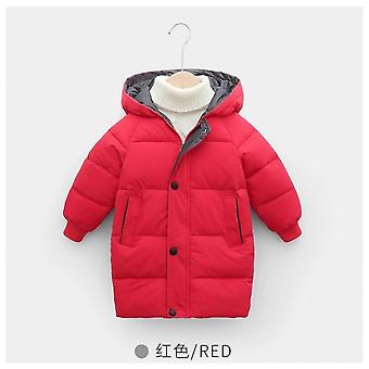 2021 Autumn And Winter Children's Padded Cotton Children's Clothing Boys And Girls Long Section Thick Coat