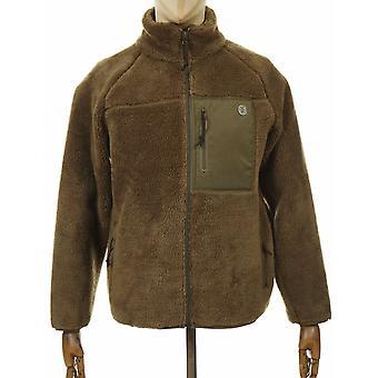Deus Ex Machina Mackay Fleece Jacket - Dark Olive