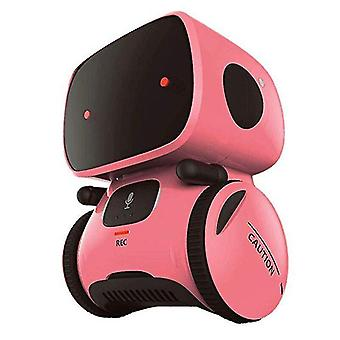 Digital cameras intelligent robotic toys repeating recorder control christmas gift toy for kids christmas gifts|rc robot pink