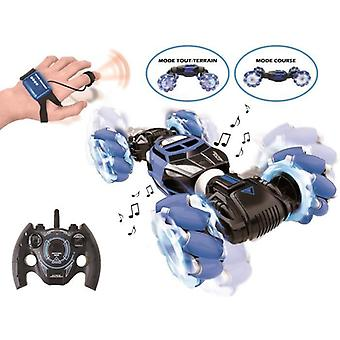 Extreme  Light And Sound Off-road Remote Control Car With Remote Control And Control Bracelet - Lexibook