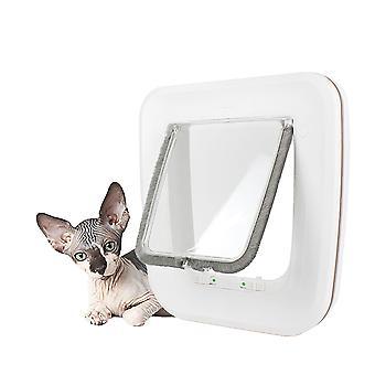 Huiskatten en honden sluiten automatisch de deur (25,5 cm24,5 cm5,2 cm)