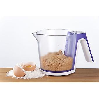 Cocina digital escala 2Kg con medida taza 1.2 litros
