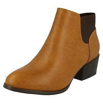 Damen-Spot auf hochhackigen Ankle Boot F50230
