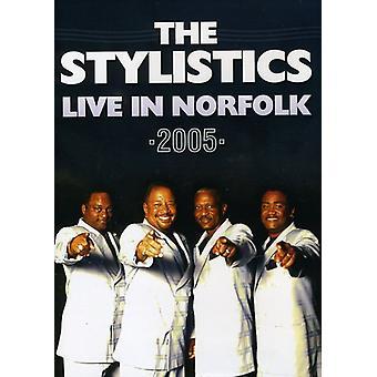 Stylistics - Live in Norfolk 2005 [DVD] USA import