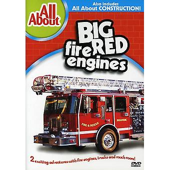 Big Red Fire Engines/Construction [DVD] USA import