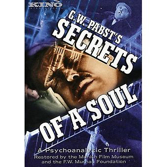 Hemligheter av en själ (1926) [DVD] USA import