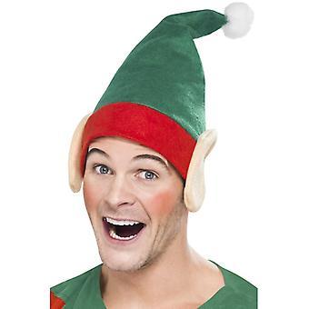 Elf lue med ører Xmas Little Helper har Christmas Elf lue