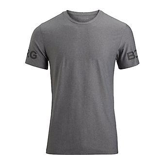 Bjorn Borg Hydro Pro Active T-Shirt, Light Grey Melange