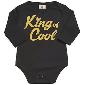 Spoilt Rotten King Of Cool Organic Babygrow