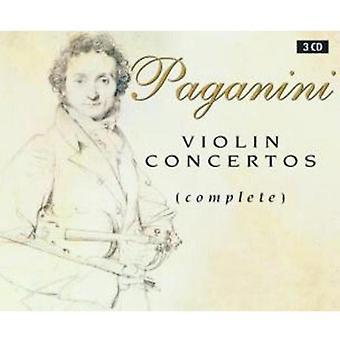 N. Paganini - Paganini: Violin Concertos (komplett) [CD] USA import