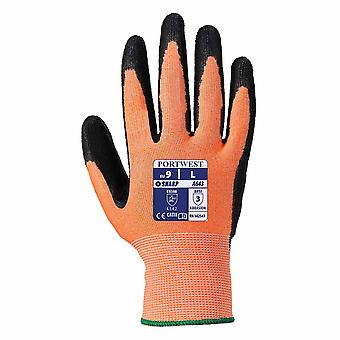 Portwest - 1 Pair Pack Amber Cut Level 3 Resist Hand Protection Glove