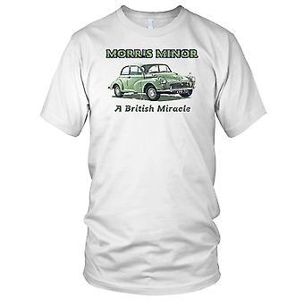 Morris Minor un miracolo britannico classica auto Mens T-Shirt