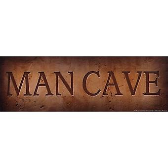 Man Cave Poster Print by John Jones (18 x 6)